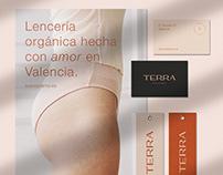 TERRA. Lencería orgánica   Branding project