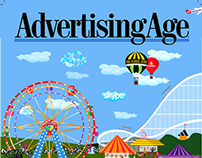 Cover page : Advertising Age