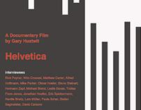 映画「Helvetica」ポスター