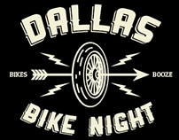 DALLAS BIKE NIGHT – Social gathering shirt design