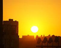 Sunset, New York City