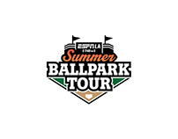 Summer Ballpark Tour Logo for ESPN Radio