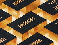 Goldfinger Business Cards