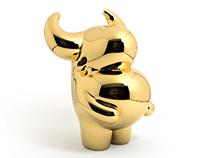 "Gold OX ""prosperous"""