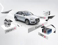 Audi Q3 mobile campaign