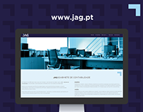 JAG - Gab. de Contabilidade - Website e Social Media
