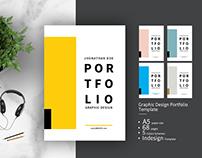Graphic design portfolio template on behance graphic design portfolio template pronofoot35fo Choice Image