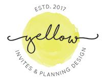 YELLOW INVITES & PLANNING DESIGN