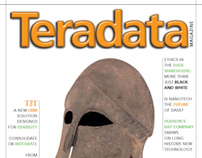 Teradata Magazine, Editorial Redesign