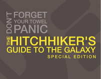 The Hitchhiker's Guide To The Galaxy - Packaging Design