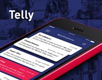 Telly \ Notofication App