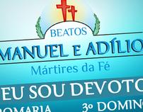 Identidade Visual - Beatos Manuel e Adílio