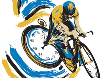 2012 Amgen Tour of California - Stage 5 Logo