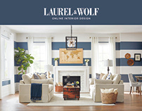 Laurel & Wolf Print Marketing Collateral