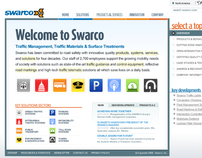 Swarco UX Redesign