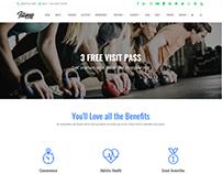 Plains Page - Fitness WordPress Theme