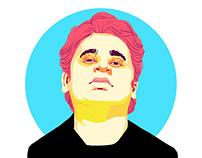 pop art graphic portraits
