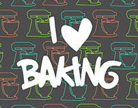 Baking Poster Collection for Time2bake.com