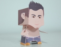 Tryin to make my first Paper Toy