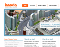 Innovia Corporate UX Redesign