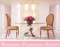 WEDDING PLANNING 3D DESIGN