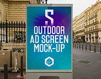 Outdoor Advertising Screen Mock-Ups 14 (v.3)