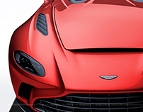 2020 Aston Martin V12 Speedster Red