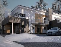 Winter house in Olsztyn