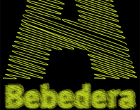 A bebedera. Display typeface