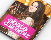 """Ehate Dairemiz"" Azercell Corporate Magazine"