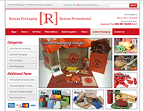 Roman Packaging E-Commerce Website