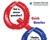 Poster and digital adverts: Careers Service - UCT