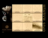 "Azza Fahmy "" Opus magnum "" online campain"