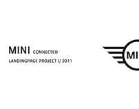 MINI connected // Landingpage // 2011