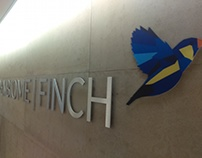 OpenBiome|Finch Lobby Signage Package