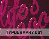 Typography Design 001