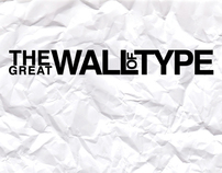 The Great Wall of Type