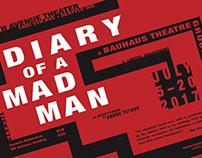 Diary of a Madman | Bauhaus Poster Series