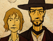 The Western (traditionally animated short)