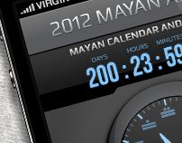 Mayan Alarm - iPhone app