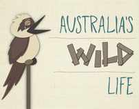 Australia's Wild Life Infographic