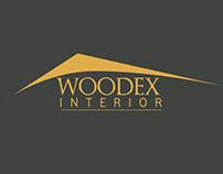 LOGO IDENTITY FOR WOODEX INTERIOR