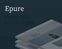 Epure | Adobe Muse Template