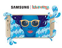 BRANDING/ Samsung Vive Galaxy en Vivo