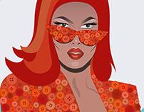 Rupauls Drag Race Digital Illustrations