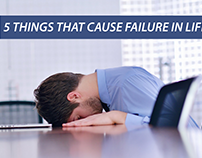 Five Things That Cause Failure in Life