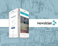 News Sharing App Designs
