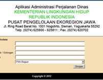 Sistem Informasi Perjalan Dinas Ekoregion Jawa
