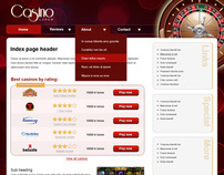 Casino mini-site template