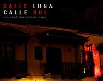 Serie fotográfica Calle luna / Calle sol
